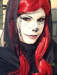 Skelita (Monster High) / Day of the Dead Inspired Make Up. Rei Ichigo