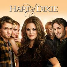 HART OF DIXIE (2011-2015). New Yorker and new doctor Zoe Hart accepts an offer from a stranger, Dr. Harley Wilkes, to work in his medical practice in Bluebell, Alabama. She arrives to find he has died and left half the practice to her in his will. A CHEESY CHICK FLICK and I loved it! HULU: http://www.hulu.com/hart-of-dixie