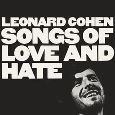 Leonard Cohen - Songs of Love and Hate on LP
