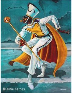 Ernie Barnes - Drum Major