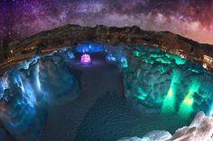 Amazing! Inilah Istana Es Yang Dibuat Oleh Brent Christensen