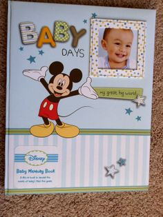 New Baby Boy first 5 yrs KEEPSAKE Memory by YourScrapbookingShop, $14.95