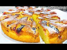 Hier is het perfecte recept voor de meest luchtige en zachtste caketaart! het smelt in je mond - YouTube Fruit Recipes, Baking Recipes, Cake Recipes, Dessert Recipes, No Bake Pies, No Bake Cake, Plum Cake, Fruit Pie, Bread Cake