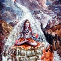 Lord Siva with the Ganges river coming down on his head Om Namah Shivaya, Indian Philosophy, Lord Vishnu Wallpapers, Mother Goddess, Hare Krishna, Deities, Worship, Avatar, Art Gallery