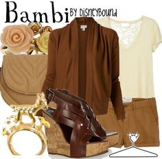 disney fashion | Disney Bound for a while a couple of people called me bambi eyes