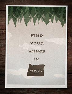Oregon Poster