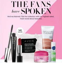 Free 6-piece customer faces set with any order of $50 or more  Use code FANFAVE expires 10/24/16  Missed this deal? Find the latest coupon codes and promos at http://www.thoughtsonbeauty.com/p/avon-coupon-codes.html
