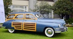 1950 Packard Standard Eight Station Sedan. Vintage Cars, Antique Cars, Woody Wagon, Classy Cars, Best Muscle Cars, Sweet Cars, New Trucks, Station Wagon, Car Photos