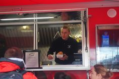 Nick Kraus - Concessions Supervisor for Rutgers Dining Services - The Knight Wagon food truck - medieval meal - Rutgers