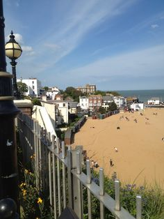 Looking towards Bleak House, Broadstairs (Kent)...such a lovely place