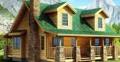 $28,000 Perfectly Built Log House.. Check This Out!