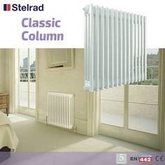 Stelrad Classic 1800mm x 414mm 2 Column Radiator 3809 BTU - Radiators