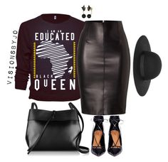 Untitled #1424 by visionsbyjo on Polyvore featuring polyvore moda style Dsquared2 Aquazzura Kara Kate Spade Lipsy fashion women's clothing women's fashion women female woman misses juniors
