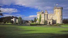 Dromoland Castle in Ireland. My dream is to go to Ireland and stay in a castle! Castle Hotels In Ireland, Castles In Ireland, Castle Ruins, Stay In A Castle, Clare Ireland, Hotel Architecture, Scottish Castles, Travel Tours, Travel Ideas