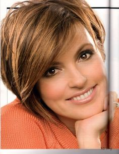 Short Hairstyles for Thin Hair and Round Face - Bing Images Love Mariska Hargitay in short hair so much better than her present longer hair style!