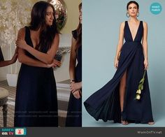 Emily's bridesmaid dress on Pretty Little Liars Pll Outfits, Tv Show Outfits, Pretty Lottle Liars, Fashion Tv, Fashion Outfits, Witch Fashion, Pretty Little Liars Outfits, Sophia Dress, Navy Bridesmaid Dresses