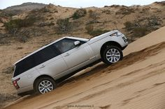 New Range Rover, Essaouira dunes, press presentation 2012