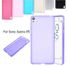 For Sony Xperia E5 TPU Phone Cases Frosted Protective Case Cover Pouch PAPC157 #UnbrandedGeneric