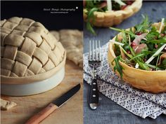 Pastry Salad Bowls | * Nicest Things: Pastry Salad Bowls