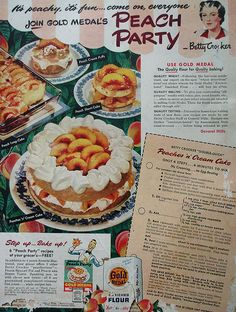 Recipes in Vintage Ads & Magazines