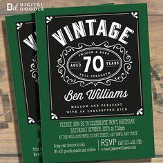 Beatles Birthday Digital Printable Invitation Template Abbey - 70th birthday invitation images