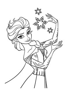 Disney Elsa Coloring Pages. New Disney Elsa Coloring Pages. Disney Frozen Anna and Elsa Coloring Pages Olaf Free Little Frozen Coloring Sheets, Frozen Coloring Pages, Disney Princess Coloring Pages, Disney Princess Colors, Disney Colors, Coloring Pages To Print, Free Printable Coloring Pages, Coloring Book Pages, Coloring For Kids