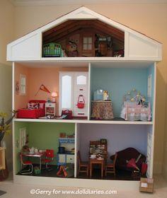 American Girl Doll house.