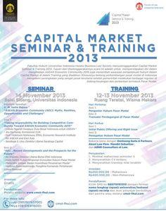 Capital Market Seminar & Training 2013