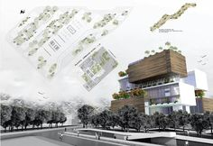 Urban Infill - Hotel Architecture student project | ARCH-student.com