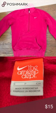 Nike 1/4 zip Worn only a few times Nike pull over size small Nike Other