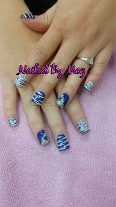 Dallas Cowboys Makeup, Dallas Cowboys Nail Designs, Football Nail Designs, Football Nails, Football Team, Creative Nail Designs, Colorful Nail Designs, Gel Nail Designs, Cute Nail Designs