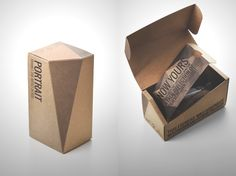 Portrait Hand Made Sunglases on Packaging of the World - Creative Package Design Gallery