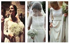 Inuñez// Fotos de los vestidos de novia de Isabel Núñez, alumna egresada en Diseño de Moda de ESNE