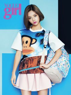 Girl's Day Hye Ri - Vogue Girl Magazine April Issue '14