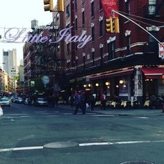 #little #italy #nyc #spring #evening