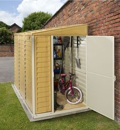 Shed With Lean To