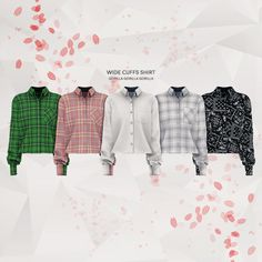 The Sims 4 Wide Cuffs Shirt by Sims 4 Cas, My Sims, Sims Cc, Sims 4 Male Clothes, Sims 4 Clothing, Male Clothing, Men Clothes, Packs The Sims 4, Suspenders Outfit