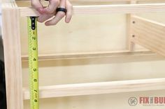 6 Easy Steps to Make Drawers : 6 Steps (with Pictures) - Instructables Building Kitchen Cabinets, Laundry Cabinets, Built In Cabinets, Diy Cabinets, Cupboard Drawers, Diy Drawers, Large Drawers, Woodworking Terms, Youtube Woodworking