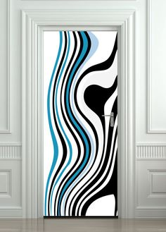 Mural Sticker Decal Wall Wood Fridge Self-Adhesive Doorway Theme Door Wrap