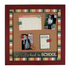 Back to School Bulletin Board from @Crafts Direct.
