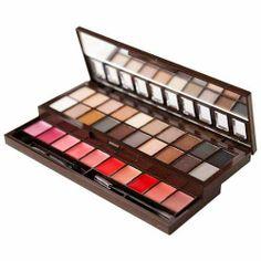 #nyx nude tones eyeshadow & mix of lipstick