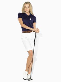 Ralph Lauren Golf Stretch Tournament Polo