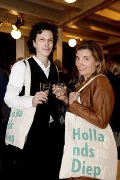 Hollands Diep-goodiebags op de lancering. ©Geert Snoeijer