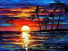 TROPICAL FIESTA .. Leonid Afremov