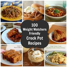 100 Low Calorie Weight Watchers Crock Pot Recipes, all with calorie information and Points Plus #weightwatchers #recipes #crockpot #pointsplus http://simple-nourished-living.com/2014/01/100-days-crock-pot-recipes-weight-watchers-style-giveaway/