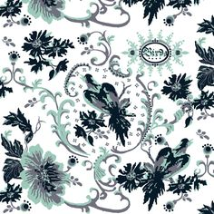 birds of paradise / navy fabric by paragonstudios on Spoonflower - custom fabric