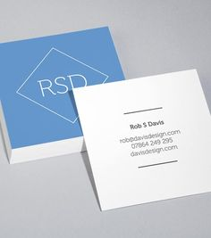MOO Colour Field Square Business Card Design Templates Artsy - Square business card template