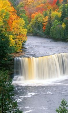 Autumn - Tahquamenon Falls, Michigan. I have been here!