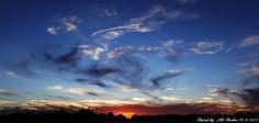 An Oklahoma sunset....