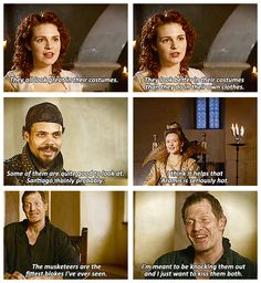 The Musketeers - 'Behind the Musket' interview quotes